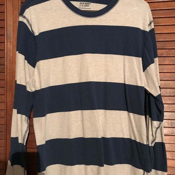 Old Navy Other - XL Old Navy Striped Long Sleeve Shirt